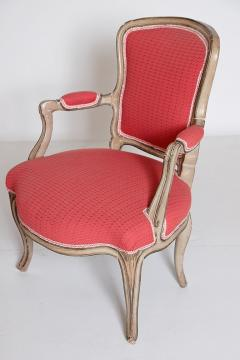 Pair of Louis XV Painted Fauteuils - 2003135