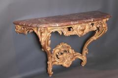 Pair of Louis XV Period Wall Mount Console Tables circa 1740 - 2003136