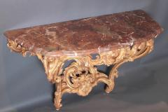 Pair of Louis XV Period Wall Mount Console Tables circa 1740 - 2003138