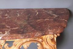 Pair of Louis XV Period Wall Mount Console Tables circa 1740 - 2003139