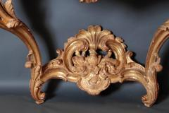 Pair of Louis XV Period Wall Mount Console Tables circa 1740 - 2003141