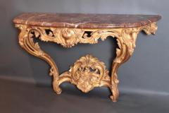 Pair of Louis XV Period Wall Mount Console Tables circa 1740 - 2003142