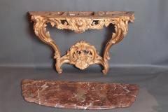 Pair of Louis XV Period Wall Mount Console Tables circa 1740 - 2003143