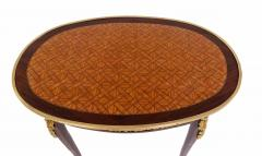 Pair of Louis XV Style Gilt Bronze Mounted Side Tables - 1437494