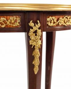 Pair of Louis XV Style Gilt Bronze Mounted Side Tables - 1437495