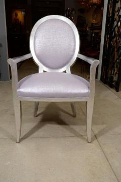 Pair of Louis XVI Style Armchairs - 1099982