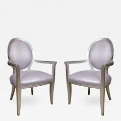 Pair of Louis XVI Style Armchairs - 1100918