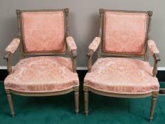 Pair of Louis XVI Style Fauteuils - 1205258