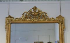 Pair of Louis XVI Style Giltwood Pier Mirrors c 1840 - 1108818