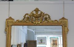 Pair of Louis XVI Style Giltwood Pier Mirrors c 1840 - 1108819