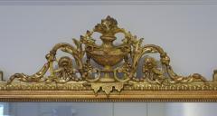 Pair of Louis XVI Style Giltwood Pier Mirrors c 1840 - 1108822
