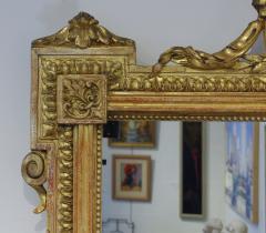 Pair of Louis XVI Style Giltwood Pier Mirrors c 1840 - 1108823