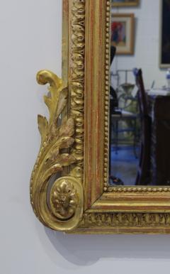 Pair of Louis XVI Style Giltwood Pier Mirrors c 1840 - 1108824
