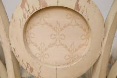 Pair of Louis XVI Style Parcel Gilt Upholstered Fauteuils - 671549