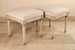 Pair of Louis XVI stools - 1833599