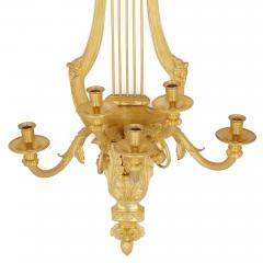 Pair of Louis XVI style gilt bronze sconces - 2003843