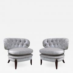 Pair of Lounge Chairs By Otto Schulz - 1008556