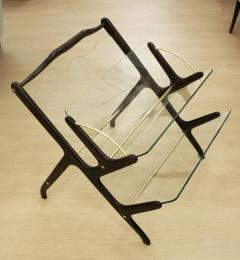 Pair of Magazine Book Racks Italy 1950s - 90336