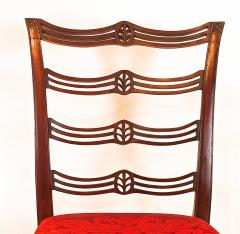 Pair of Mahogany Chippendale Side Chairs - 1019911