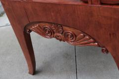 Pair of Mahogany Empire Armchairs - 1853916