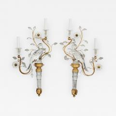 Pair of Maison Bagues Wall Sconces - 786085