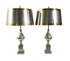 Pair of Maison Charles Mangue table lamps - 1261830