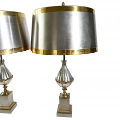 Pair of Maison Charles Mangue table lamps - 1261832