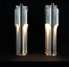 Pair of Maison Charles Orgue lamps - 2005817