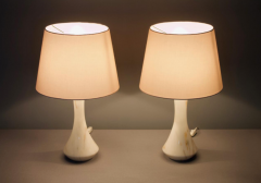Pair of Marble Table Lamps 1970s - 1858387