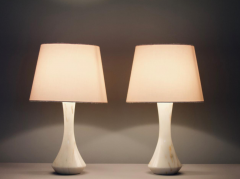 Pair of Marble Table Lamps 1970s - 1858388