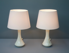 Pair of Marble Table Lamps 1970s - 1858389