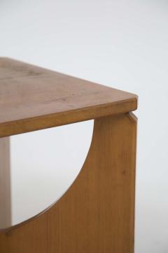 Pair of Mid Century American Wooden Stools - 2126767