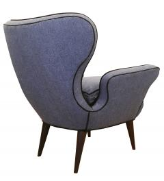 Pair of Mid Century Armchairs with Foot Stools - 211740