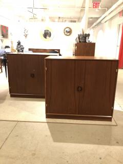 Pair of Mid Century Cabinets by John Stuart Inc Stamped  - 1455597