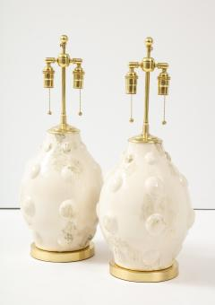 Pair of Mid Century Ceramic Lamps - 1795796