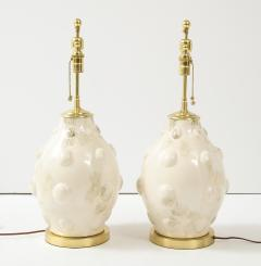 Pair of Mid Century Ceramic Lamps - 1795803