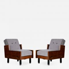 Pair of Mid Century Club Chairs - 195282