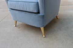 Pair of Mid Century Italian Armchairs - 2135319