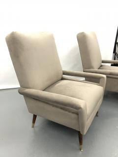 Pair of Mid Century Italian Club Chairs - 1181337