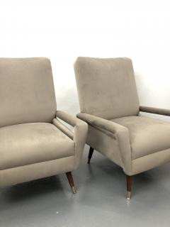 Pair of Mid Century Italian Club Chairs - 1181338