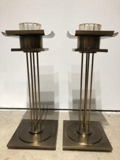Pair of Mid Century Modern Candle Holders  - 1557060