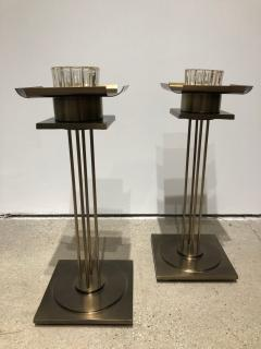 Pair of Mid Century Modern Candle Holders  - 1557121