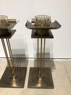 Pair of Mid Century Modern Candle Holders  - 1557122