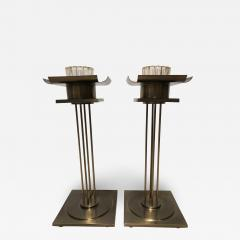 Pair of Mid Century Modern Candle Holders  - 1558401