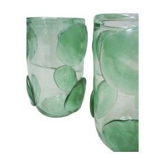 Pair of Mid Century Modern Costantini Murano Glass Italian Vases - 2039971