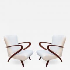 Pair of Mid Century Modern Italian Armchairs - 1141149