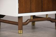 Pair of Mid Century Modern Lacquered Finish Nightstands - 1102780