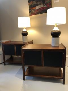 Pair of Mid Century Modern side cabinets - 1220329