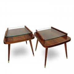 Pair of Mid Century Modern side tables  - 1970437