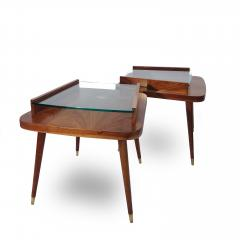 Pair of Mid Century Modern side tables  - 1970438